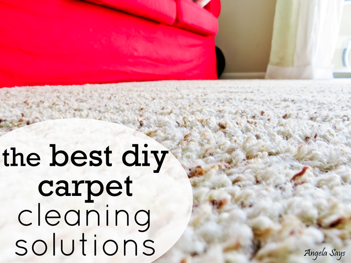 s best ways to clean with vinegar, Get an Ultra Clean Carpet with Vinegar
