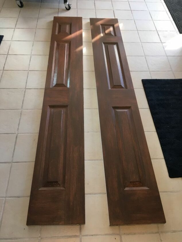 How To Paint Faux Wood On Hollow Core Doors Diy Hometalk