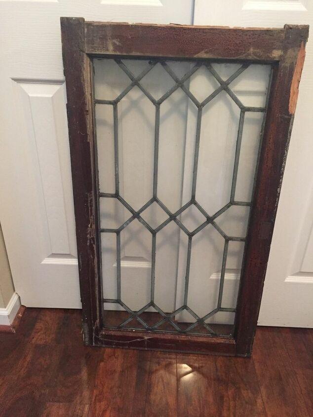 How to Make a Mercury Effect a Vintage Leaded Glass Window ...