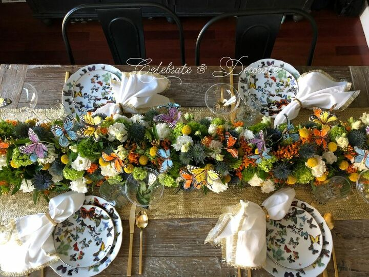How to Make a Table Runner Centerpiece
