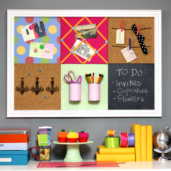 s diy letter board ideas, Make a Pottery Barn Style Modular Bulletin Board