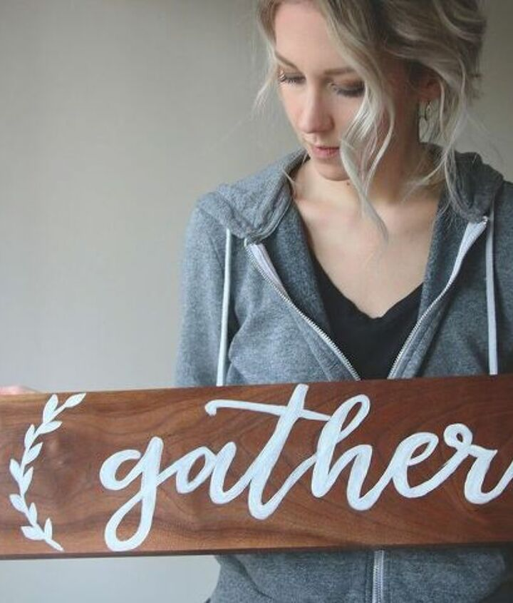 diy hand painted sign