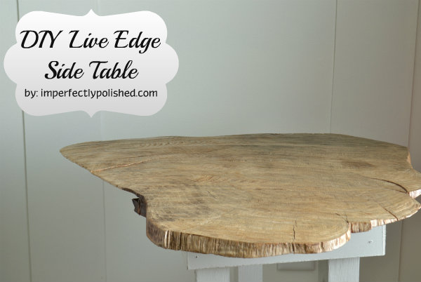 s wood slabs diy projects, Natural Wood Slab Table