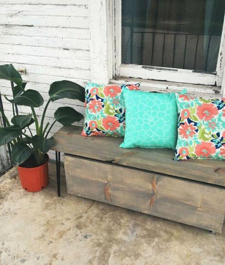 s wood slabs diy projects, Wood Slab Bench