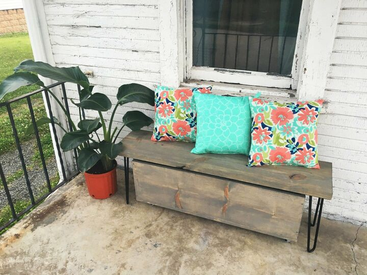 s wood slabs diy projects, Wood Slab Bench