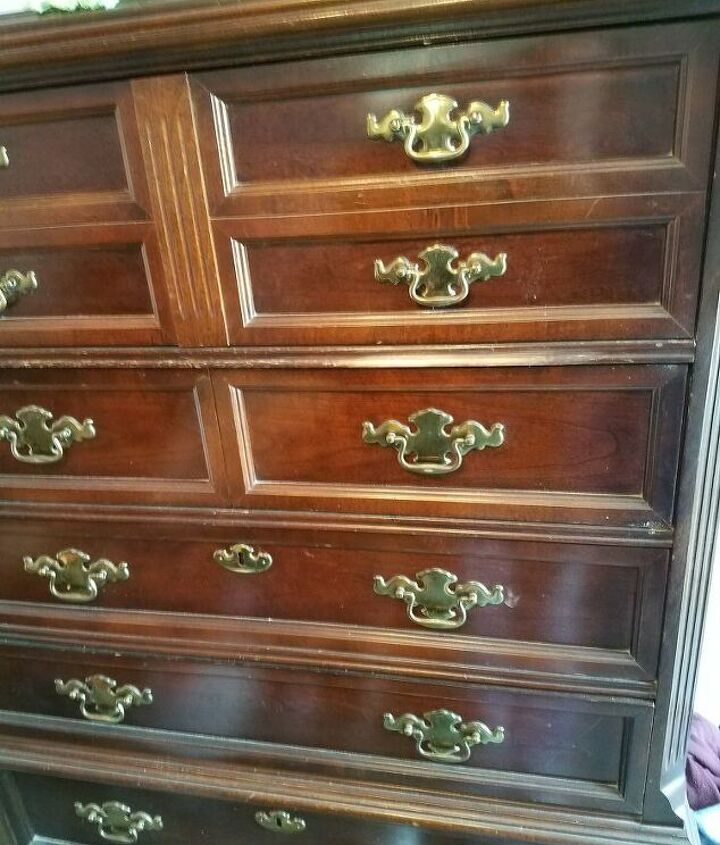 q what is the best way to refinish the dresser