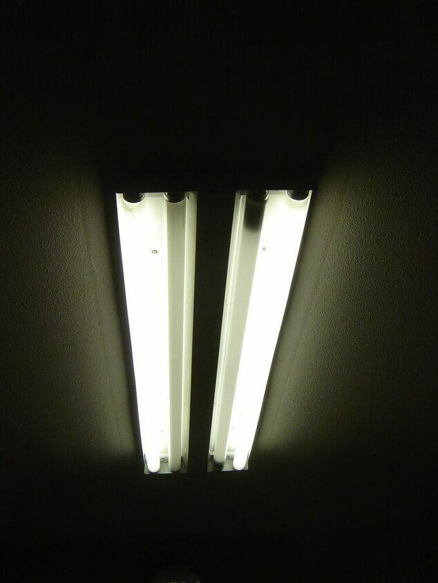 q how to fix a flourescent light fixture with a broken plastic insert
