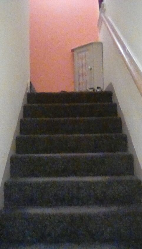 q how to jazz up stair way