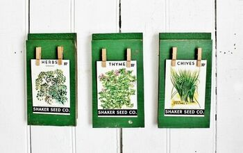 Easy as 1-2-3 Spring Seed Pack Wall Art