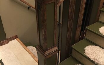 Staircase Renovation - From Drab to Dramatic!
