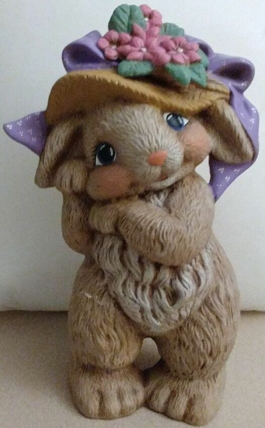 q suggestions for reviving a ceramic bunny