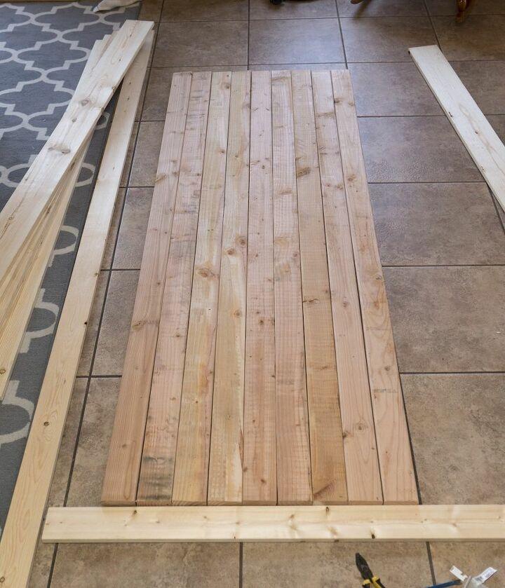 how to build barn doors