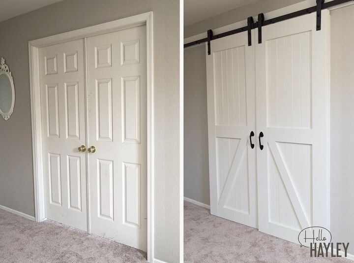 how to frame a doorway for barn doors
