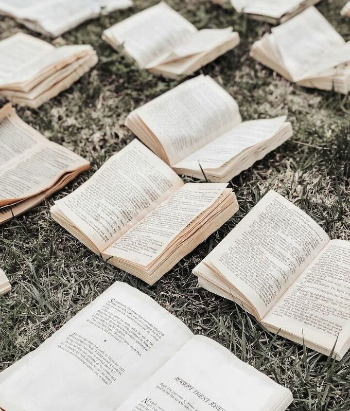 how to age books