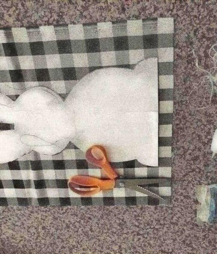 no sew stuffed bunny