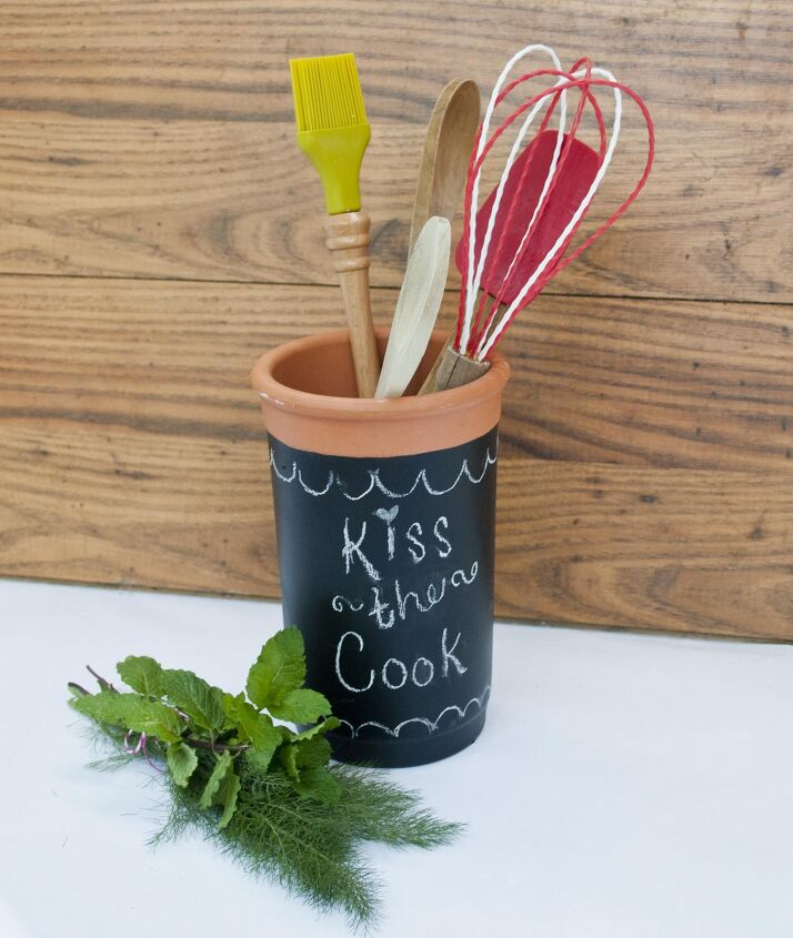 s 11 utensil holder ideas, A Customized Kitchen Utensil Holder