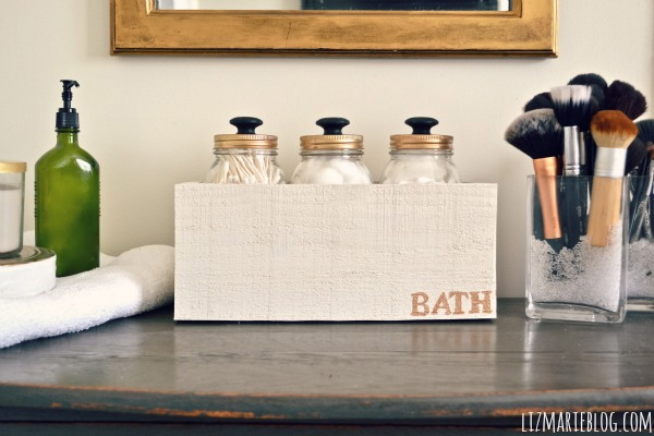 s mason jar diy ideas, Use Mason Jars for Bathroom Storage