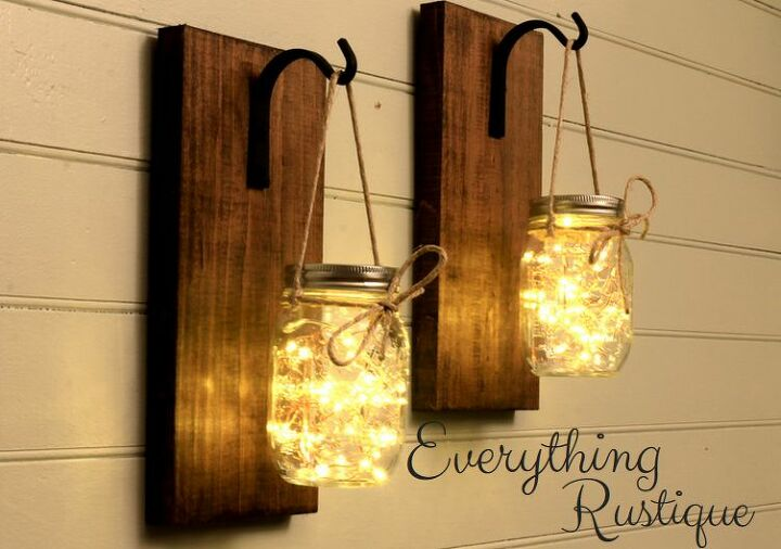 s mason jar diy ideas, Make Mason Jar Lights