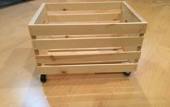 Rolling Crate Storage