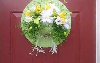 Spring Bonnet Bouquet For Your Front Door