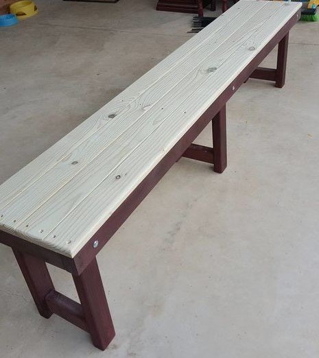 How to make a simple bench
