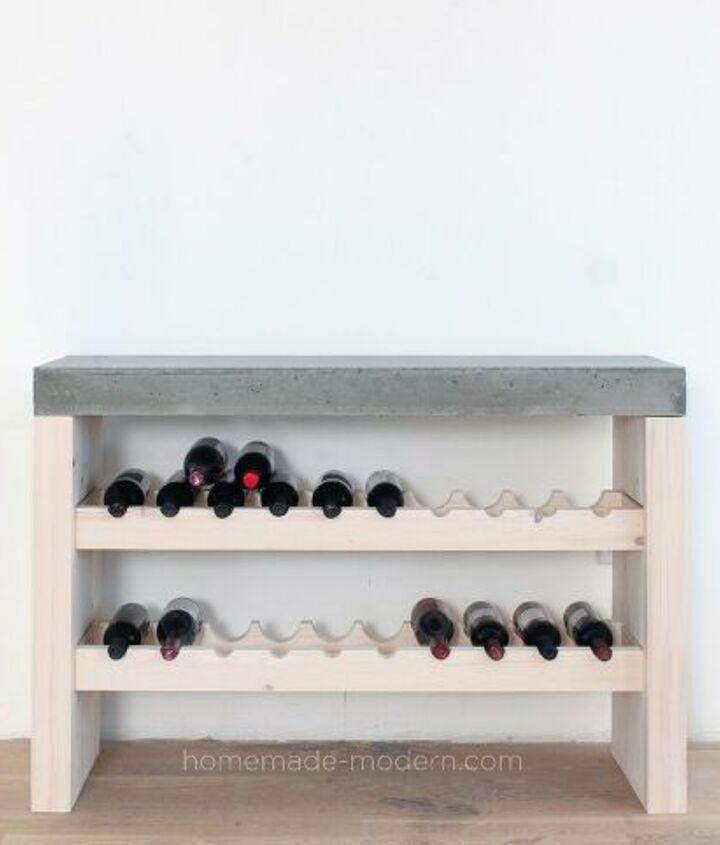 s 13 great diy wine rack ideas, DIY Wine Bar