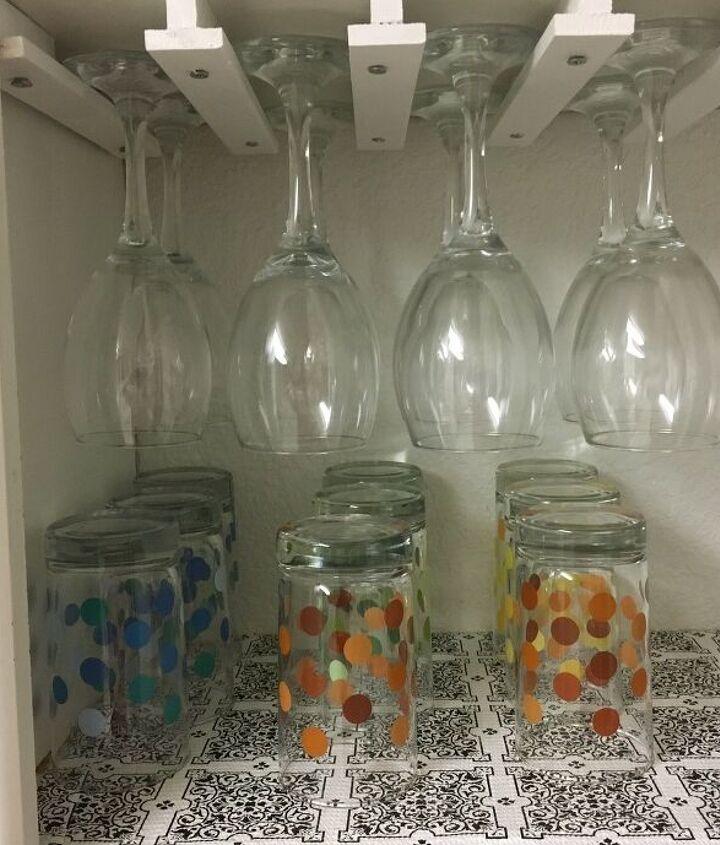 s 13 great diy wine rack ideas, Wine Glass Rack