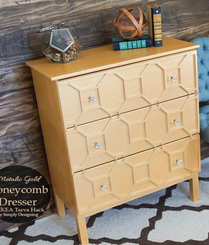 s dresser decor ideas, Honeycomb IKEA Dresser