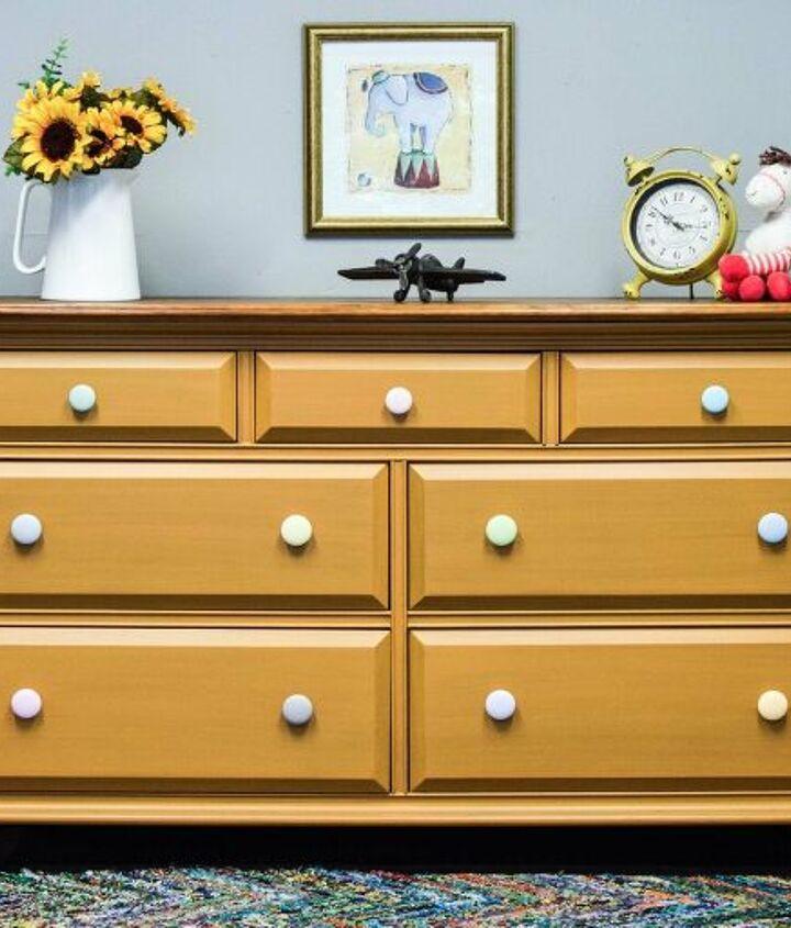 s dresser decor ideas, Pastel Dresser Knobs for a Nursery