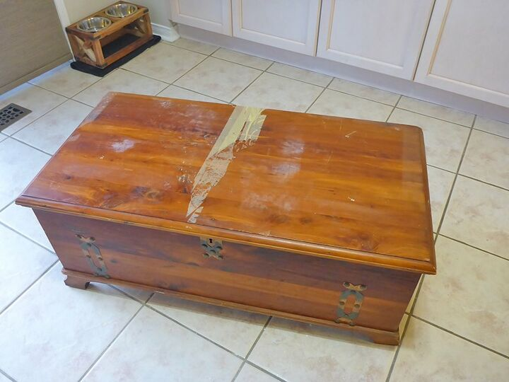 curbside cedar chest becomes multi functional furniture