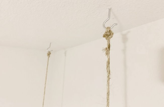 rustic swing nightstands in 2 hours