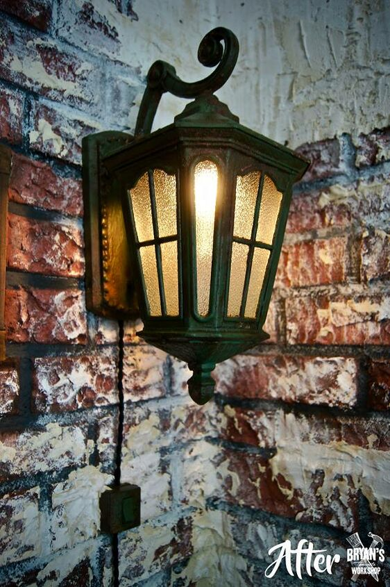 let s make a rusty light pendant