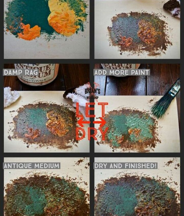 let s make a rusty light pendant
