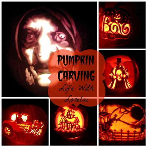 pumpkin carving witch