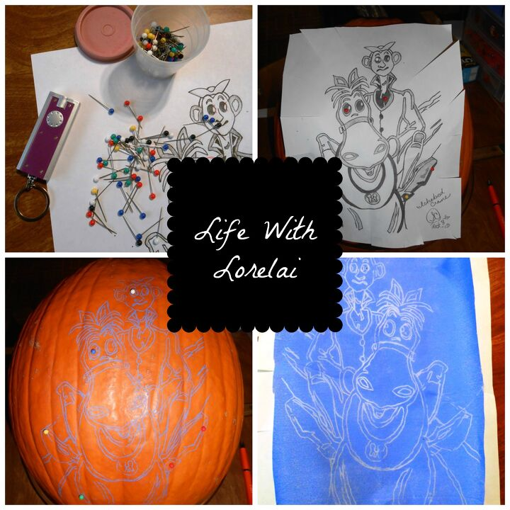 easy pumpkin carving images
