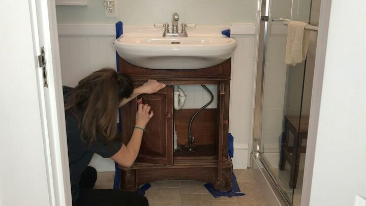 totally transform your bathroom vanity