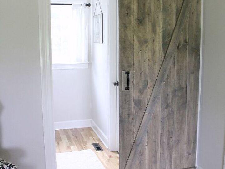20 DIY Ideas to Help You Build Your Perfect Barn Door