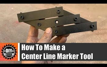 How To Make a Center Line Marker Tool - Video