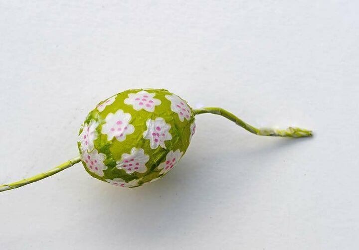 colorful marimekko easter egg wreath