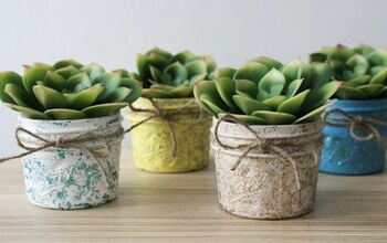 Make A Pretty Mason Jar Succulent Planter For Easter