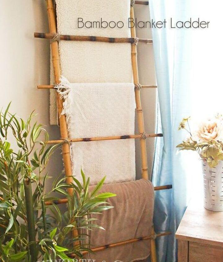 s blanket ladder, Brilliant Bamboo Blanket Ladder