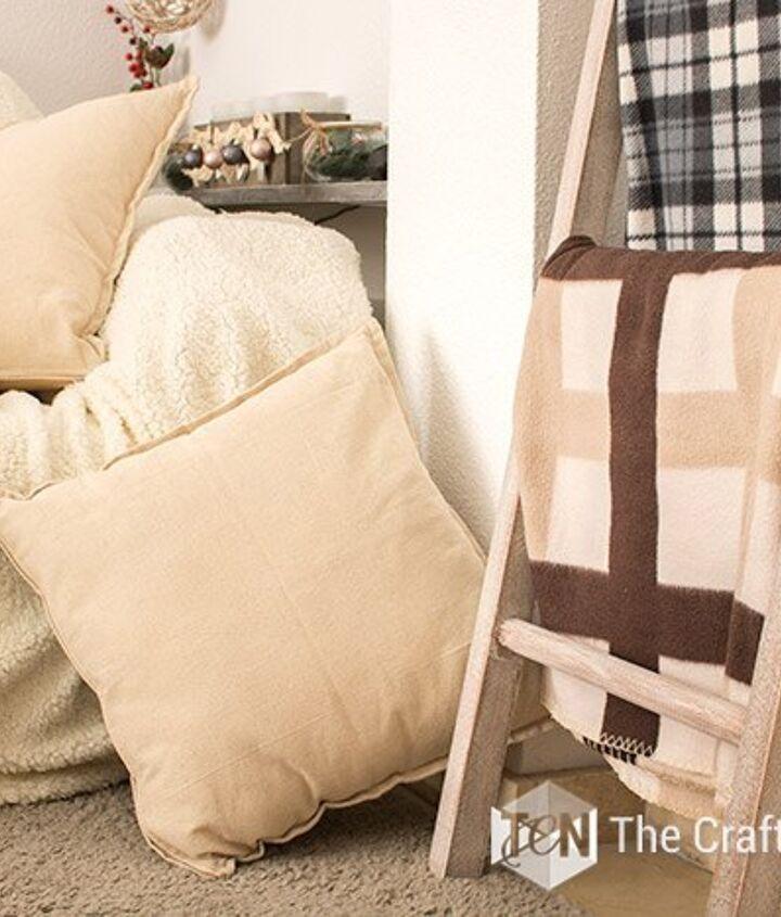 s blanket ladder, Rustic Ladder Blanket Rack