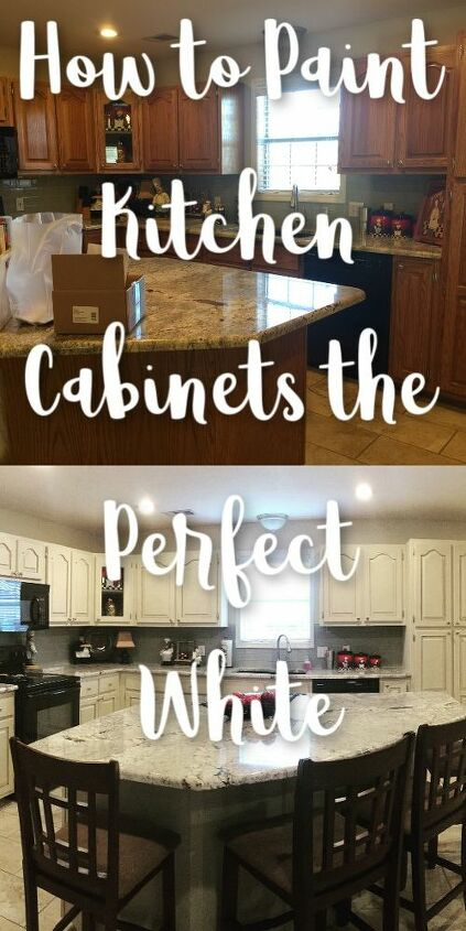 how to paint kitchen cabinets the perfect white