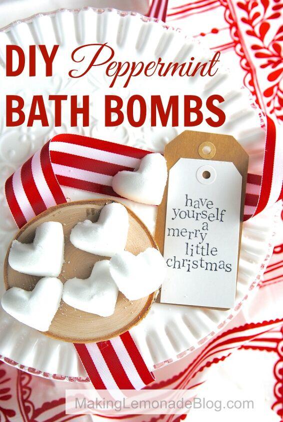 s diy bath bombs, Easy DIY Bath Bombs with Peppermint Scent