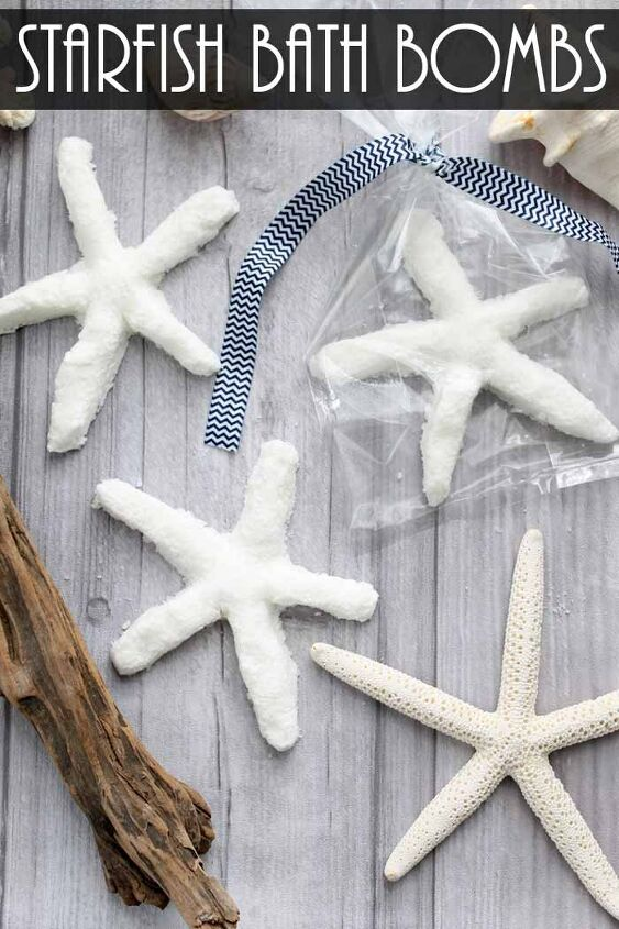 s diy bath bombs, Make Your Own Starfish DIY Bath Bombs