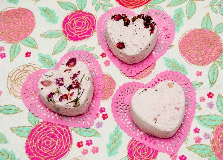 s diy bath bombs, Easy DIY Bath Bombs with Rose Petals