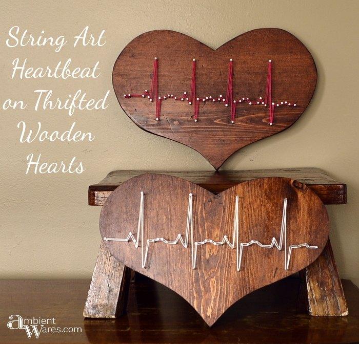 Beating Heart string art