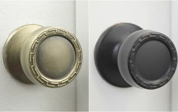 Easily Update Old Door Knobs