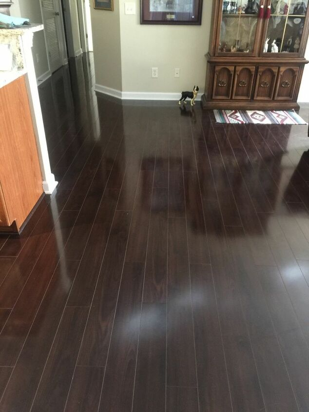 q clean laminate flooring