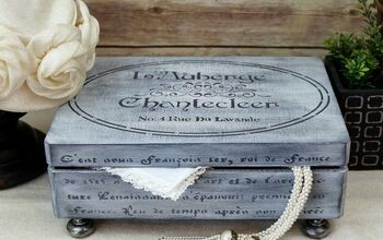 Vintage Inspired Keepsake Box